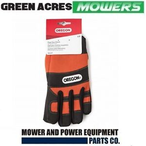 OREGON CHAINSAW PROTECTION GLOVES SIZE LARGE SUITS STIHL HUSQVARNA CHAIN SAW