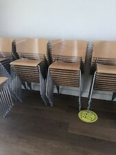 Job Lot Wooden Cafe Commercial Chairs X 67