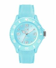 Ice Watch Uhr Unisex Medium Quarz Armbanduhr Pastel Blau 10 ATM 014239
