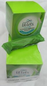 56 x Lil-lets Tampon Smartfit super plus compact applicator. 4 boxes of 14
