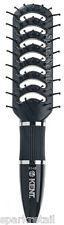 Kent Black Nylon Ball Tip 7 Row Detangling Vent BRUSH Vented Hairbrush KS43