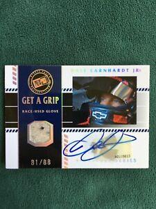 2008 Press Pass Dale Earnhardt Jr. Get A Grip autograph glove relic /88