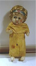 "Vintage Bisque 5 1/4"" Tall Doll - Made In Japan."