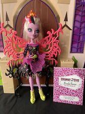 Bonita Femur-Freaky Fusion-híbridos-Monster High Muñeco Completo Con Diario