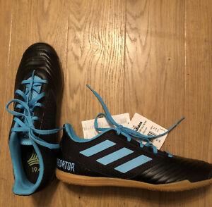 Adidas Predator 19.4 In SA UK Size Uk 10 Football Indoor Trainers - Black New