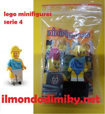 Lego Minifigures serie 4 Pattinatrice_ Ice Skater - nuovo