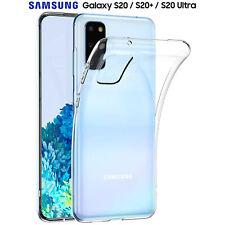 Cover per Samsung S20 / Plus / Ultra Custodia Silicone Trasparente 5G Tpu Slim