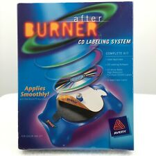 Avery After Burner Cd Labeling System Complete Kit Sealed 6 Jewel Case Inserts
