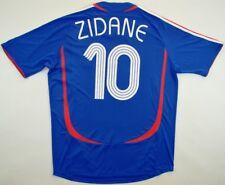 99815b952 France World Cup 2006  10 Zinedine Zidane shirt FFF Adidas jersey maillot  maglia