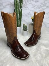 Dan Post alligator boots , Alligator Belly , Vintage , Rare , Exotic