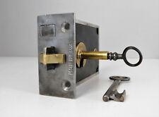 Ancienne Serrure de Porte Révisée,2 Clés,Boitier Marqué MON Bte SGDG,Lock Door