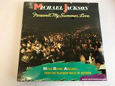 MICHAEL JACKSON LP FAREWELL MY SUMMER LOVE VINYL LP 1984 PRESS NEW SEALED