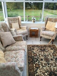 conservatory furniture set used 2 Chairs 1 Sofa