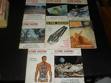 FLYING SAUCERS PERIODICAL BOOKS 1960'S