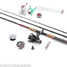 Shakespeare Float Fishing Kit Set Rod Reel Hooks Floats Rest Catapult Baitbox