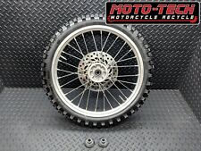 """(4) 2007 CRF150R 17"""" FRONT WHEEL - TIRE - SPROCKET - HUB ALSO FITS CRF150RB"""