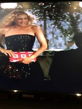 Bvlgari Pink Silk Clutch Purse As Seen On Carrie Sex And The City