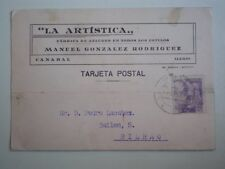 3 TARJETAS PUBLICIDAD FABRICAS ATAUDES EN LUGO CANABAL FERREIRA DE PANTÓN