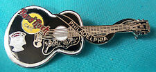 PHILADELPHIA ELVIS PRESLEY DEAD ROCKER ACOUSTIC GUITAR SERIES Hard Rock Cafe PIN