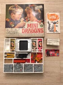WORKING MATTEL THINGMAKER MINI DRAGONS Set w/ Original Box Missing 1 PlastiGoop