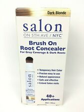 Salon On 5th Ave NYC Brush On Root Concealer 75oz Dark Blonde Gray And Dark Root