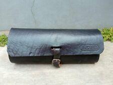 Oval Tool Bag Saddle Black color Handmade For Vintage Bicycle Eye Glass Bag Etc