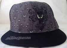 Disney Haunted Mansion 45th Anniversary Wallpaper Grey Youth Baseball Hat Cap