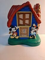 Vtg 1994 Seiko Quartz Mickey, Minnie Mouse & Donald Duck Talking Alarm Clock