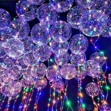 New~LED Light UP Balloons Party Balloon Graduation Birthday Wedding Decoration