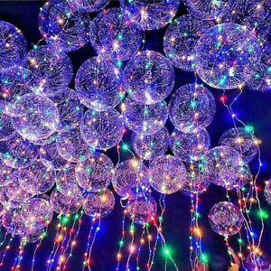 New~LED Light UP Balloons Party Balloon Graduation Birthday Wedding Decoration