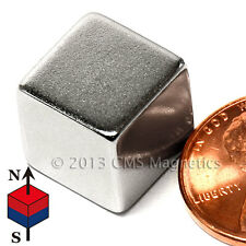 "CMS Magnetics® Strong N45 Neodymium Magnet 1/2"" Cube 4-pc"