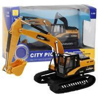 1: 50 Bulldozer Engineering Alloy Car Dump Truck Crane Excavator Electric Toy❤lo