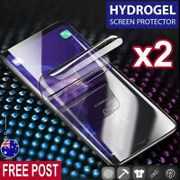 2X HYDROGEL FLEX Film Screen Protector For Samsung Galaxy Note 9 8 S9 S8 Plus