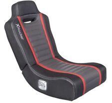 X-Rocker Monza 2.0 Audio Dual Speaker Gaming Floor Home Office Video Gamer Chair