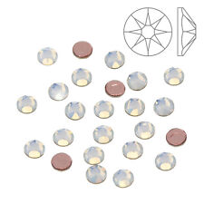 Swarovski Hotfix Crystals 2078 White Opal (SS16) Pack of 24 (K64/13)