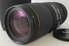 【Near Mint】Sigma AF EX 180mm F3.5 Apo Macro DG HSM For Canon From Japan #1427