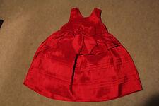 Girls Red Dress Size 2T Maggie & zoe