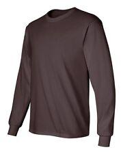 Gildan 2400 Ultra Cotton® (Pack of 3) Blank Adult Long Sleeve T-Shirt Bulk Lot