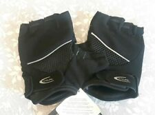 BNWT CRIVIT SPORTS GEL CYCLING GLOVES BLSCK SIZE 9