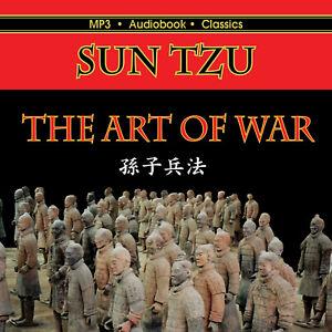 The Art of War - Unabridged MP3 CD Audiobook in CD jacket