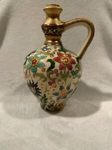 Beautiful Hand Painted Fischer J Budapest Jug