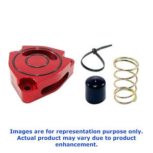 Torque Solution For 14+ Kia Forte KOUP Turbo Blow Off Sound Plate Red TS-SP2-KFR