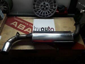 V2A Sports Exhaust Muffler Rear Silencer Lancia Delta Integral Evo