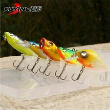 Saltwater Freshwater Metal Spinner Spoon Fishing Lure Baits 5pcs Colors Lures