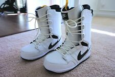 NIKE VAPEN SNOWBOARD BOOTS 447125-101 Black White Sz 12 2013