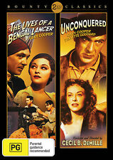 The Lives of a Bengal Lancer (1935) / Unconquered (1947) - Double Pack
