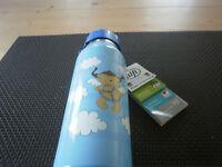 """Alfi Iso Bottle 0,35 ltr."""" Bin Bei Dir """" Isolierflasche hellblau Neu 5337 610035"""