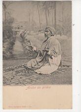 Arabe En Priere Tunisia Vintage U/B Postcard US050