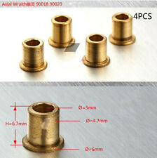 4Pcs Steering Front Knuckles Flange Brass Bushing for Axial SCX10 RA Car #1140
