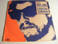 "BOB DYLAN Union Sundown Ex+ CBS 1983 UK PS 7"""